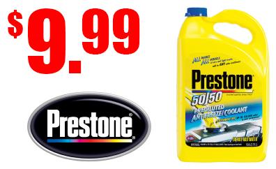 Presetone 50-50 Antifreeze $9.99